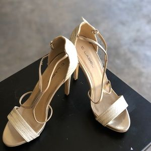 C Label Cream Heels